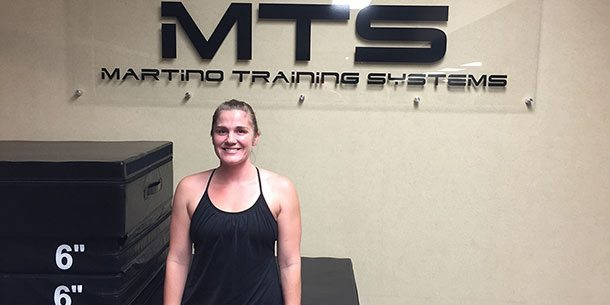 Jessica Irwin - MTS Athlete of the Month