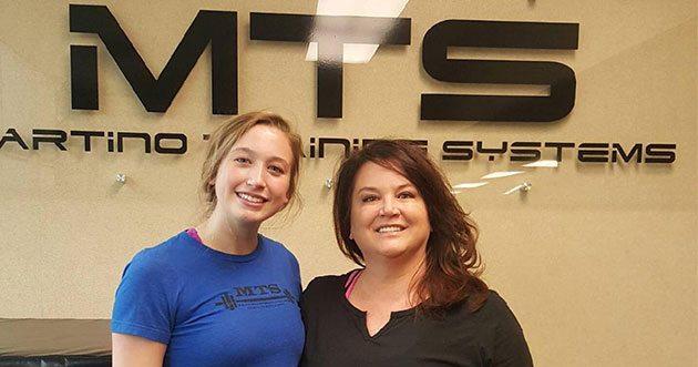 Liz Williams & Eva Adams - MTS Athletes of the Month
